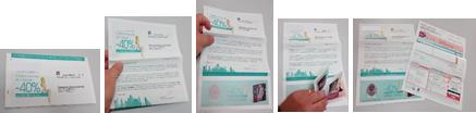 Promocheques geintegreerd in het gepersonaliseerde document - A